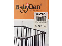 Baby Dan Hexagonal Playpen/room divider/safety gate (£89 new)