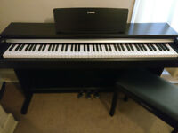 Yamaha YDP-142 Arius Digital Piano in Rosewood w/Matching Yamaha Stool