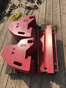 Tractor weights Versatile weight kit brand new