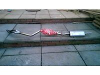 BMW BRAND NEW FULL EXHAUST SYSTEM FOR 3 SERIES E46 MODELS 1.6/1.8/1.9/BOUGHT BRAND NEW NEVER USED