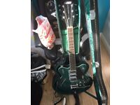 Gretsch G5622T-CB Electromatic Center Block Guitar, Georgia Green.