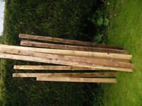 Reclaimed Fence Planks
