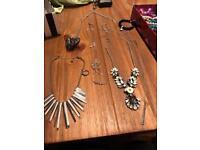 Ladies costume jewellery