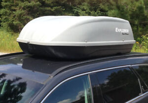 SportRack rooftop luggage carrier