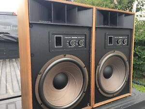 1977 Mach one stereo speakers