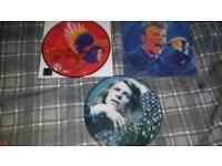 David bowie 3 picture discs