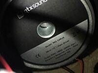 QTX passive speakers 360w