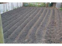 Garden Rotavating: approx £60 your garden machine rotavated rough level :07851 764915 North West.