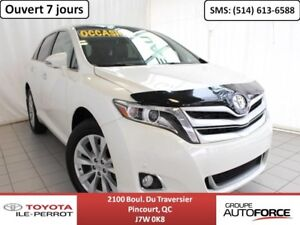 2016 Toyota Venza LIMITED, AWD, CUIR, TOIT PANO, CAM RECUL, BLUE
