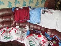 FOOTBALL SHIRTS WITH TAGS