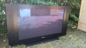 "Pioneer 36"" flat-screen TV - good condition"