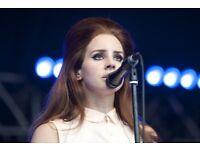 1-3 STALLS STANDING Tickets Lana Del Rey O2 Academy Brixton London TONIGHT