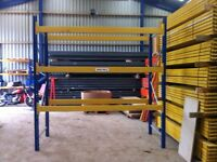 3 TIER HEAVY DUTY INDUSTRIAL WAREHOUSE LONGSPAN PALLET RACKING UNIT