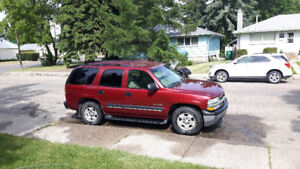 2002 Chevrolet Tahoe *3rd row* must sell !