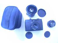 Holga 135 BC 35mm camera wide angle lens and Fish eye lens for Holga 120