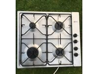 Stainless steel Neff four ring gas hob