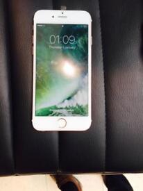iphone 6s ( 16 Gb rose gold unlocked )