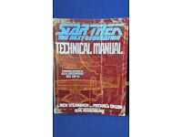 Star Trek next gen technical manual for Enterprise NCC 1701-D