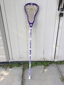 Purple STX women's lacrosse stick