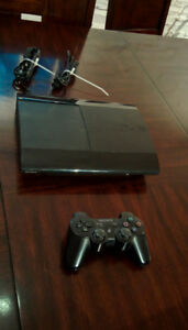 Sony PlayStation 3 Slim Launch Edition 500GB Black CECH4001C