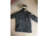 Girls hype parka jacket 11-12