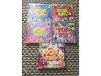 Pop party cds 1 2 3 and 9