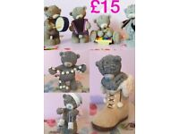 Tatty teddy figurines