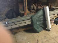 Fibre Glass Valley Board and Roll of Under Slate Felt all New for sale
