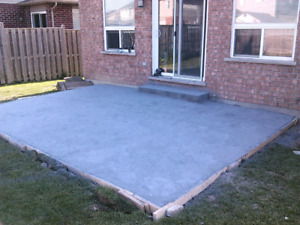 Concrete ( free estimates )