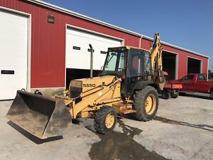 1996 Ford Newholland backhoe