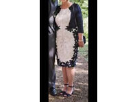 Mother of the bride dress and jacket/wedding guest SIZE18