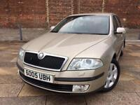 2005 SKODA OCTAVIA DIESEL / ALLOYS / ELECTRIC WINDOWS / CD / FULL MOT .