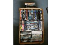 Job lot of DVD's approx 90 items