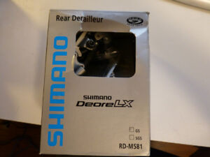 Shimano Deore LX Rear Derailleur M581 - Short Cage - Brand New