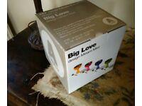 NEW - BLUE - di Alessi - Big Love - DESERT BOWL AND SPOON IN BOX