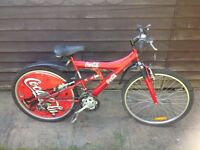 Limited edition Coca-Cola bicycle