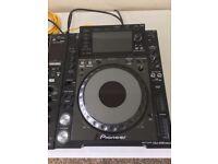 Cdj2000 nexus decks plus djm900 mixer