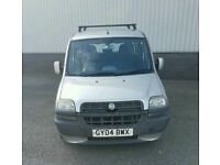 Fiat Doblo 1.9JTD (Diesel) Dynamic 2004 'New MOT, FSH, Timing belt Changed, 1 Owner, 2 Keys'
