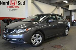 2014 Honda Civic LX*CVT*BLUETOOTH*GR.ÉLECT*