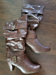 10 Pairs Size 10 Womens Gently Used Footwear