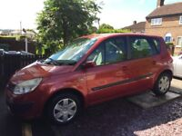 renault scenic 1.6 2005 automatic