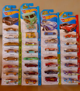 DIECAST 1/64 LOT DE 30 HOT WHEELS 2013