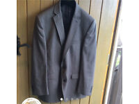 Red Herring grey stripy suit REDUCED