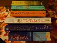 A SELECTION OF 6 GIRLS/LADIES PAPERBACK BOOKS - ALL ENJOYABLE AND IN GOOD READABLE CONDITION