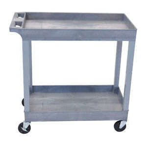 """Storage Cart - 32"""" x 18"""" with 2 Shelves"""