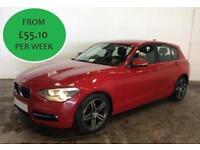 FROM JUST £236.93 PER MONTH 2014 BMW 116 2.0TD SPORT 5 DOOR DIESEL MANUAL