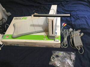 Wii console, games and accessories