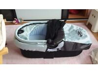 Baby Jogger City Mini Bassinet - blue in excellent condition