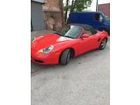 Porsche Boxster Cat C (Salvage)