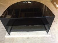 Genuine Loewe TV table in smoked glass. Lovely condition. Offers accepted